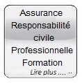 Glass button gris Assurance Resp civ prof formation