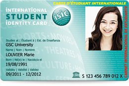 Carte dtudiant ISIC