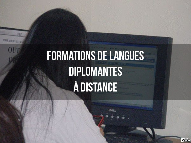 Formations de langues à distance